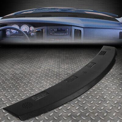 FOR 02-05 DODGE RAM TRUCK 1500 DASH DEFROST VENT GRILLE COVER CAP OVERLAY BLACK