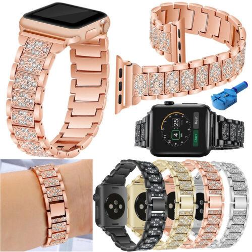 For Apple Watch Series 5 4 3 38/40MM Stainless Steel Bracele