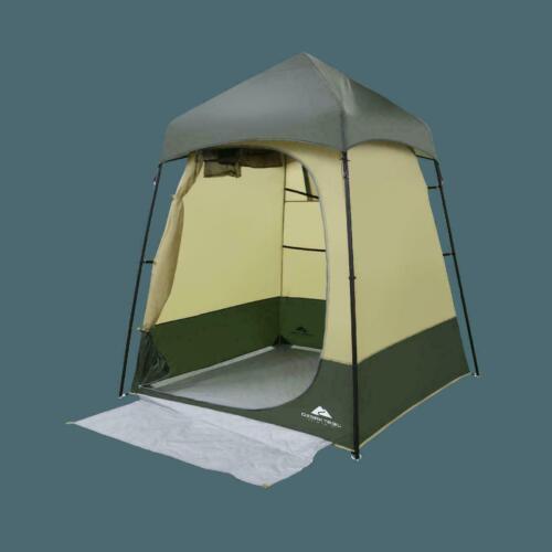 Ozark Trail Hazel Creek Portable Lightweight Camping Lighted Shower Camp Tent