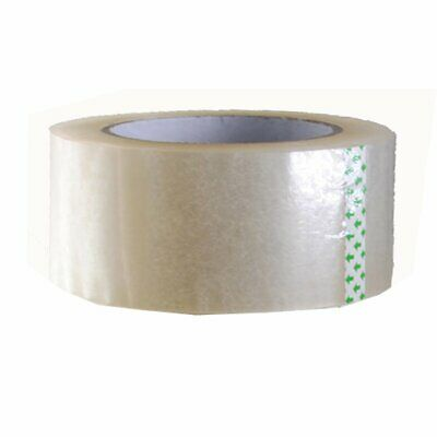 1-6 Rolls 2 X 330 2mil Or 2.6mil Clear Carton Sealing Packing Tape Moving Box