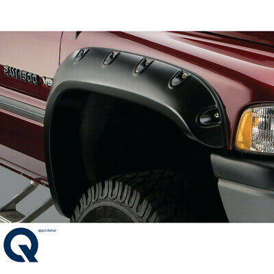 For 94-02 Dodge Ram 1500 2500 3500 Pocket Rivet Style textured Fender Flare
