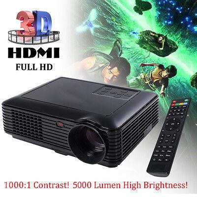 5000 lumens hd 1080p home thea... Image 1