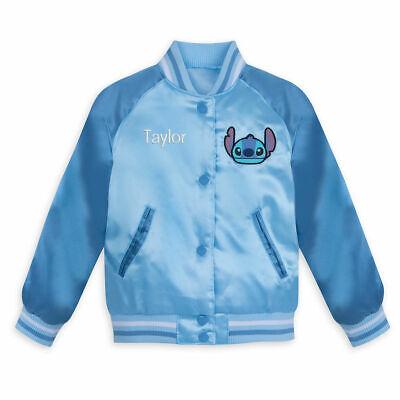 Kid Store Names (NWT Disney Store Stitch Varsity Jacket Girl No name on Jacket Many)