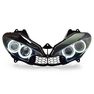 KT LED  Headlight Assembly for Yamaha R6 2003 2004 2005