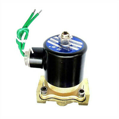 34 Inch 24v Ac Brass Electric Solenoid Valve Fit For Npt Gas Water Air Fuel Oil