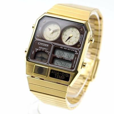 CITIZEN ANA-DIGI TEMP reprint model watch gold JG2103-72X fr
