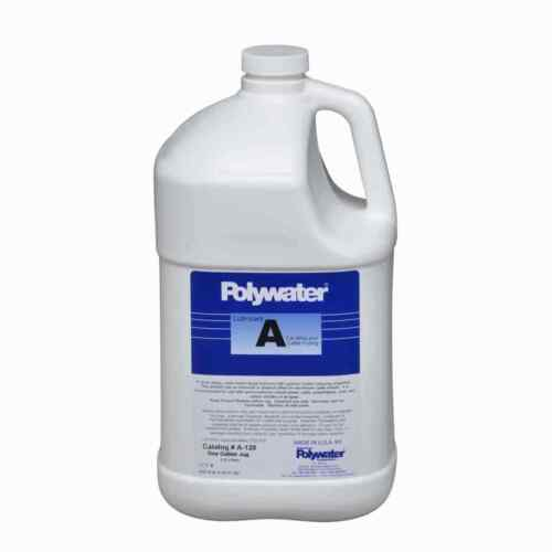 Polywater A-128 Clear Liquid Cable Lubricant 1 Gal