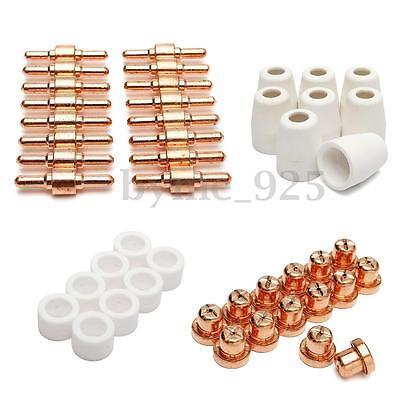 46pcs Consumables For Plasma Cutter 40d Cut40 50d Cut50 Electrodes Tips