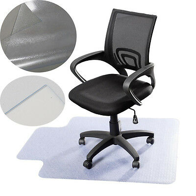Pro Desk Office Chair Floor Mat Protector for Hard Wood Floors 48'' x 36'' New
