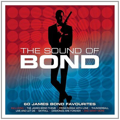 The Sound Of Bond 60 SONGS FROM JAMES BOND MOVIES Music Collection NEW 3 CD James Bond Movie Songs