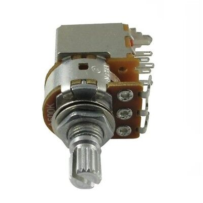 Alpha Potentiometer 500k Audio Dpdt Switch Knurled 7mm Bushing R-vpp-500ka