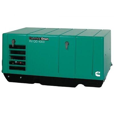 New Cummins Onan 4.0 Ky-fa26100 Rv Or Commercial Generator Set Rv Qg 4000
