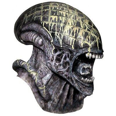 Alien Mask Adult AvP Alien vs Predator Halloween Costume Fancy Dress