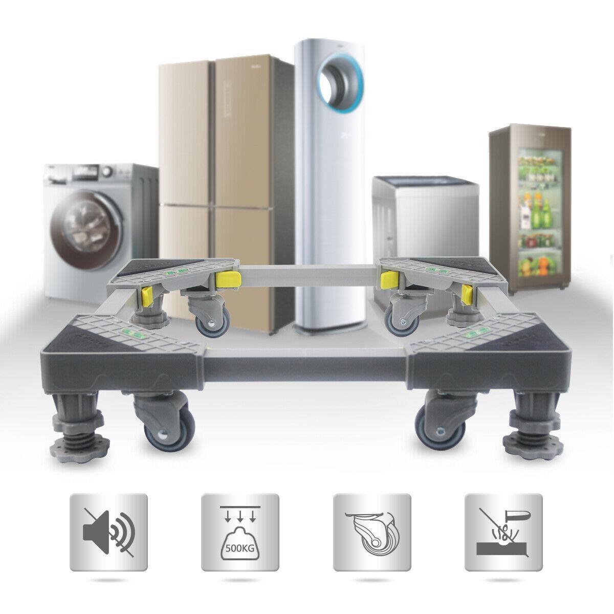 Waschmaschinen Untergestell Podest Sockel Unterbau Verstellbare für Kühlschrank