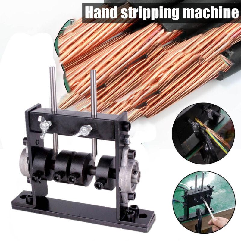 Manual Wire Stripping Machine Scrap Cable Peeling Machine Stripper 100mm Cutter