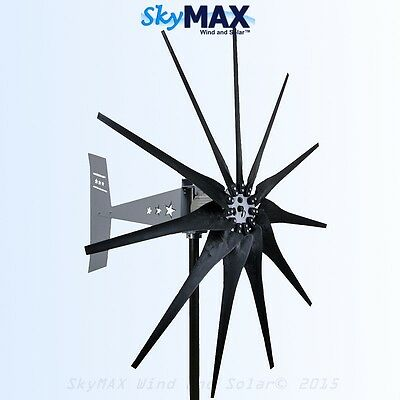Missouri General Freedom II 11 blade 24/48 volt 2000 watt max wind turbine