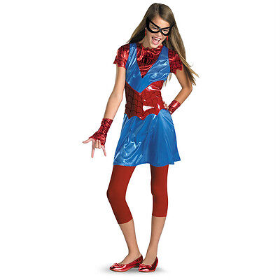 Marvel Girls Spider-Girl Tween Child Costume Disguise 50238