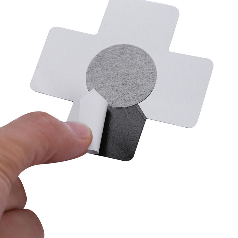 Self-Adhesive Black X Cross Nipple Pasties Covers Breast Stickers 2 pair in pack