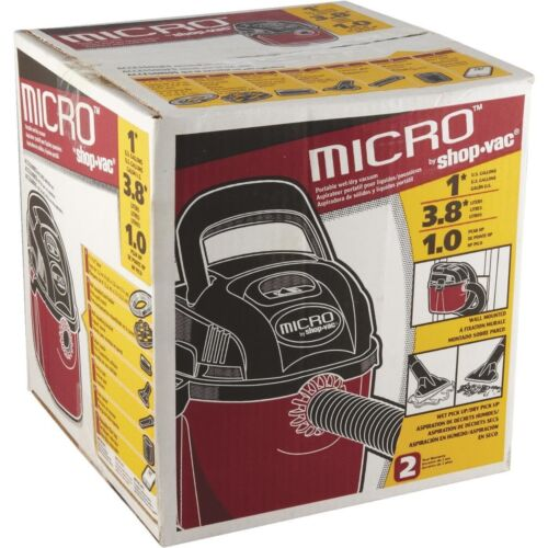 Shop-Vac Micro Compact Vacuum Cleaner 2021000