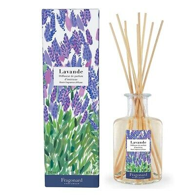 Fragonard Lavender Room Fragrance Diffuser 200ml 6.7 fl oz Lavender Room Diffuser