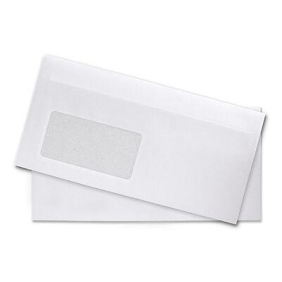 Briefumschläge DIN Lang mit ohne Fenster selbstklebend Umschläge 10 100 1000 St. ()