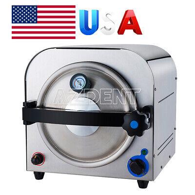 Usa 14l Dental Lab Equipment Autoclave Steam Sterilizer Medical Sterilization