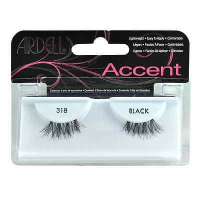 (Ardell Fashion Eye Lash Accents 318 Black)