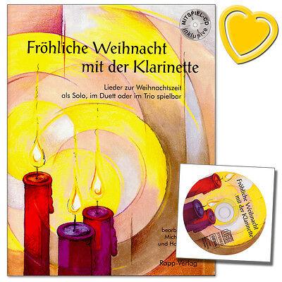 Fröhliche Weihnacht mit der Klarinette - mit CD - Rapp Verlag - 9990051431162