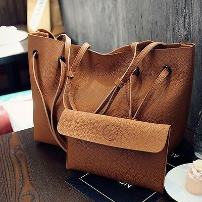 US Women Leather Shoulder Messenger Purse Handbag Crossbody Satchel Tote Bag New