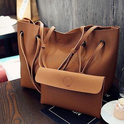 Bag - US Women Leather Shoulder Messenger Purse Handbag Crossbody Satchel Tote Bag New