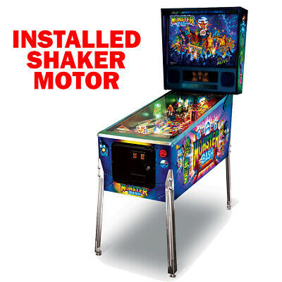 Monster Bash Remake Classic Edition Pinball with Shaker Motor