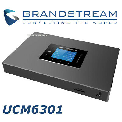 Grandstream UCM6301 IP PBX 1FXO 1FXS Appliance for Unified Communication