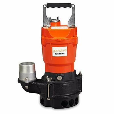 New Godwin Gst05-115v Gst05 12 Hp Single Phase 115v 2 Submersible Trash Pump