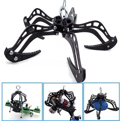 """8"""" Extra Large Mantis Claw Drone Recovery Claw Hook Grabber Kit DIY System Black"""