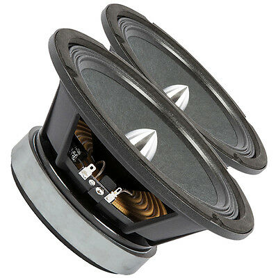 "Pair PRV Audio 8MR500-PhP-4 8"" Midbass Midrange Woofer 4Ohm 500W 100dB 1.5""Coil"