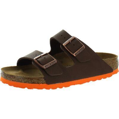 Birkenstock Boys Arizona Kids Brown Slip On Footbed Sandals Shoes 35 BHFO 5670