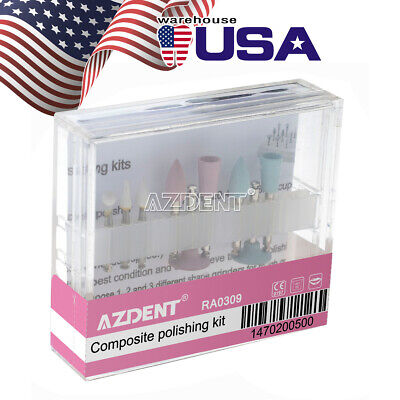 Dental Composite Polishing Kit Ra0309 For Low-speed Handpiece Teeth Polishing