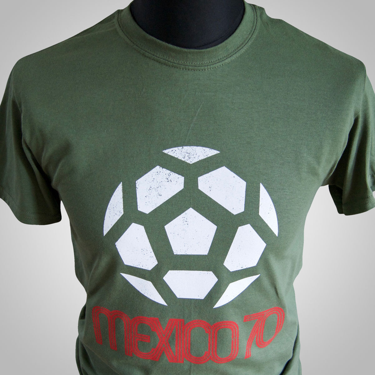 Mexico 70 World Cup Football Unisex Jersey T shirt  All Sizes Colours