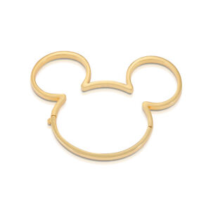 Disney Couture Kingdom Mickey Mouse 90 Years G-Plated Bangle