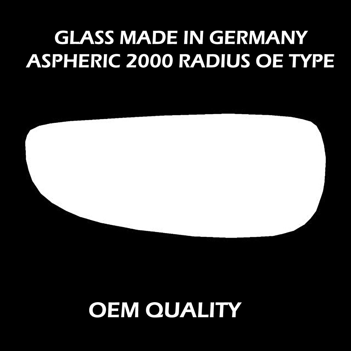 Left side bottom blind spot Wide Angle Wing mirror glass for Peugeot boxer 06-17