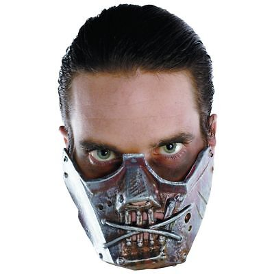 Cannibal Crazy Mask Hannibal Lector Halloween Adult Costume Silence Of The Lambs - Crazy Halloween Mask