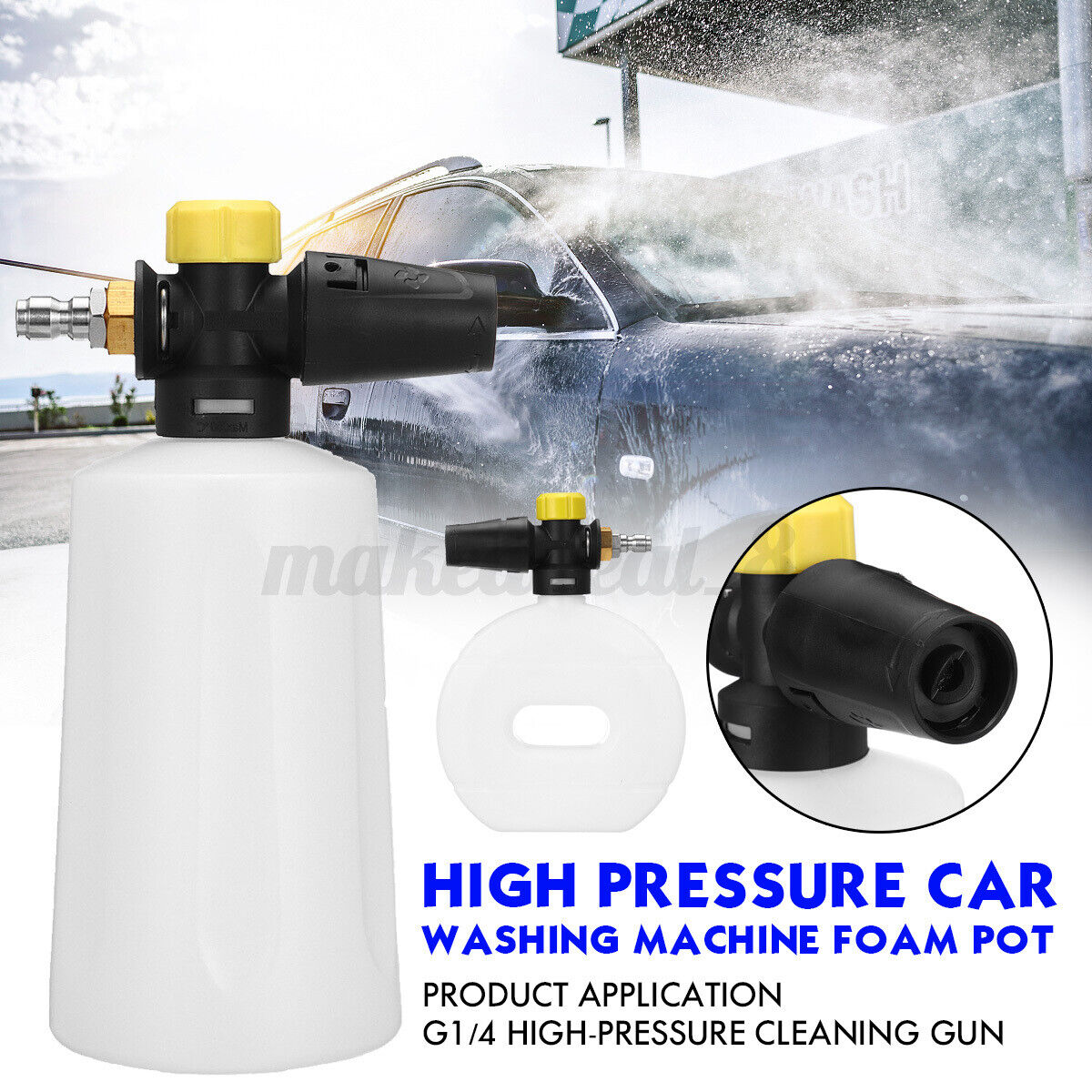 1 4 foam lance high pressure car