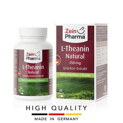 L TEANINA NATURAL 250 mg (90 capsulas) Gran período de concentración ZEINPHARMA segunda mano  Embacar hacia Spain