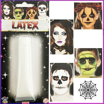 Latex Liquid Halloween Makeup Face Scar Painting Fake Skin Horror Skeleton 30ml