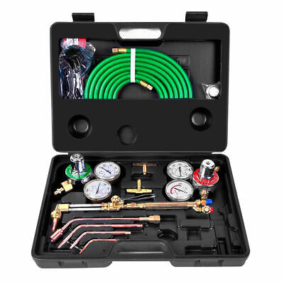 Gas Welding Cutting Kit Oxy Acetylene Oxygen Torch Brazing Fits Victor Whose