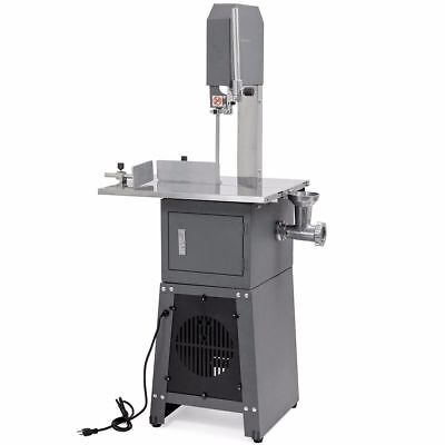 Professional Meat Cutting Band Saw With Built-in Grinder 34 Hp Motor Meatsaw