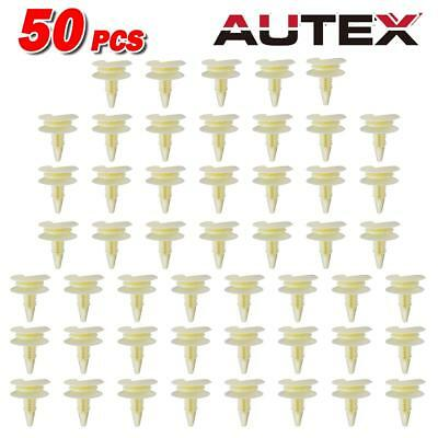 50pcs Door Trim Panel Audio Plastic Push Retainer Rivet for Buick Regal 1982-89 87 Buick Regal Door