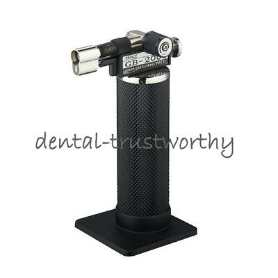 New Updated Piezo Gas Burner Dental Lab Micro Torch Lighter Soldering Welder