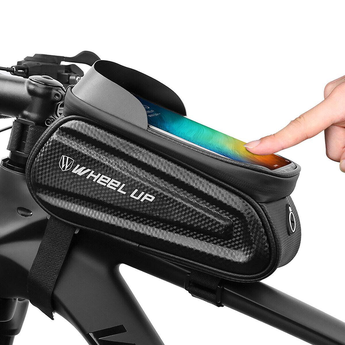 Fahrrad Tasche Rahmentasche Handy Oberrohrtasche Universal Halterung e-Bike Bag