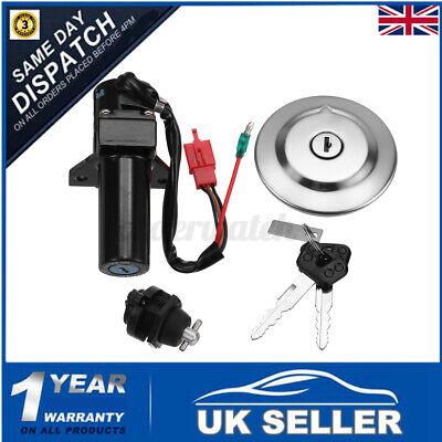 Ignition Switch Fuel Petrol Gas Cap Seat Lock Key Set For Yamaha YBR125 YBR 125